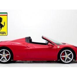Zážitek - Pronájem Ferrari 458 Spider - Praha