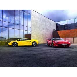 Zážitek - Souboj titánů - Lamborghini vs. Ferrari na Moravě - Olomoucký kraj