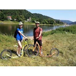 Zážitek - Sjezd na koloběžkách v Českém Švýcarsku - Ústecký kraj