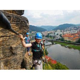 Zážitek - Dva dny na nejdelší via ferratě Česka - Ústecký kraj