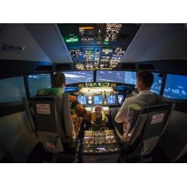 Zážitek - Pilotování simulátoru Boeing 737 NG - Praha