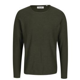 0ed51eec530 Tmavě zelený lehký svetr ONLY   SONS Paldin