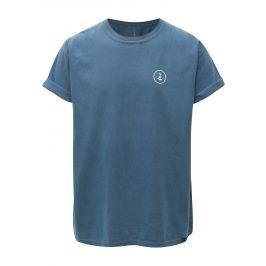 Modré tričko s potiskem Mr.Sailor