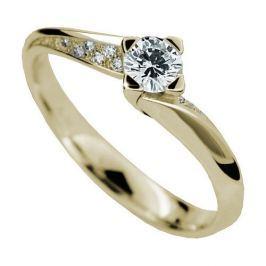 Danfil Luxusní zásnubní prsten DF2101z 58 mm