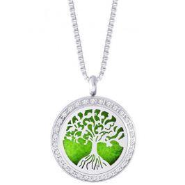 Preciosa Ocelový náhrdelník se zirkony Perfumed Tree of Life  7301 00