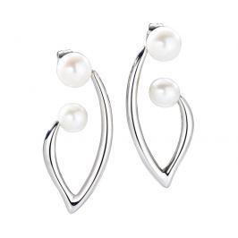 Morellato Romantické náušnice s pravými perlami Foglia SAKH16