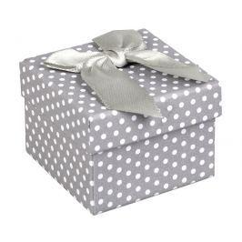 JK Box Dárková krabička na náušnice a prsten KK-3/A3