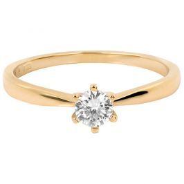 Brilio Něžný zásnubní prsten 226 001 01024 55 mm