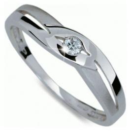 Danfil Krásný prsten s diamantem DF1776b 56 mm