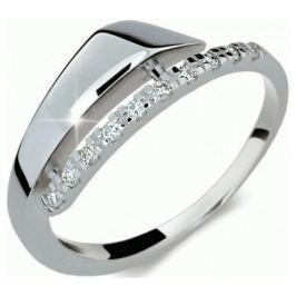 Danfil Elegantní diamantový prsten DF2048b 56 mm