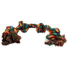 Uzel DOG FANTASY bavlněný barevný 4 knoty 60 cm