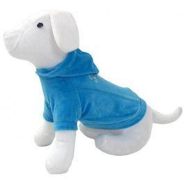 Triko DOG FANTASY s kapucí modré 35cm
