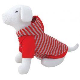 Triko DOG FANTASY s kapucí červené 40cm