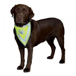 Šátek pro psy reflexní Trixie XS-S 22-28cm