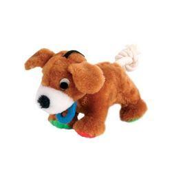 Hračka pro psy Trixie přetahovadlo pes 17cm
