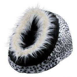 Pelíšek pro psy Trixie Minou 35*26*41cm vzor sněžný leopard