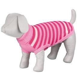 Svetr pro psy Trixie Barrie růžová M 45cm