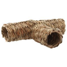Hnízdo SMALL ANIMAL Potrubí travní pletené 32 x 20 x 10 cm