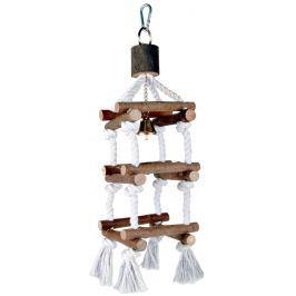 Hračka závěsná Trixie věž provaz 34cm