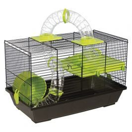 Klec SMALL ANIMAL Patrik černá se zelenou výbavou