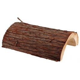 Úkryt SMALL ANIMAL Kůra stromu dřevěný 20 x 25 cm