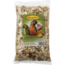 Krmivo AVICENTRA delux pro velké papoušky 500g