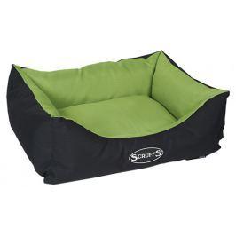 Pelíšek SCRUFFS Expedition Box Bed limetkový 50cm