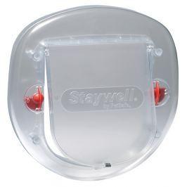 Staywell Dvířka plast transparent výřez prům. 26,3cm