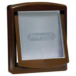 Staywell Dvířka plastová hnědá