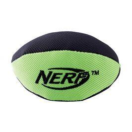 Hračka NERF guma+nylon rugby míč pískací+šusticí