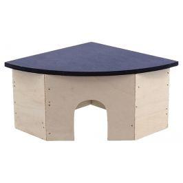 Domek SMALL ANIMAL rohový jednoduchý 24 x 17 x 10,5 cm