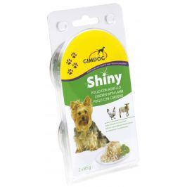 Gimdog Konzerva SHINY DOG kuře+jehně 2X85g