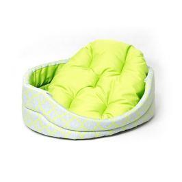 Pelech Dog Fantasy ovál s polštářem ornament zelený 43cm