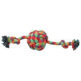 Přetahovadlo Dog Fantasy míč+2knoty 38cm