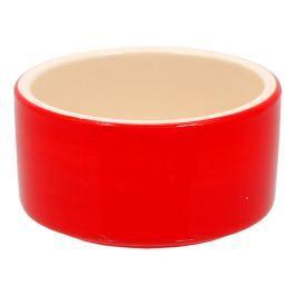 Miska SMALL ANIMAL keramická pro králíky červená 10 cm