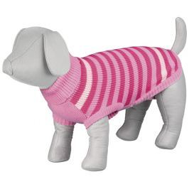 Svetr pro psy Trixie XS Barrie růžová 24cm