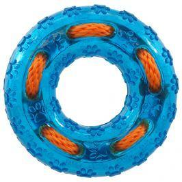Hračka Dog Fantasy kruh guma modrá 12cm