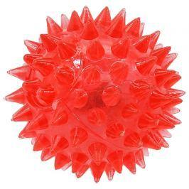 Hračka Dog Fantasy míček LED růžová 5cm