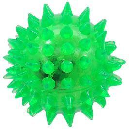 Hračka Dog Fantasy míček LED zelená 5cm