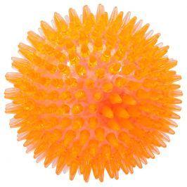Hračka Dog Fantasy míček LED oranžová 10cm