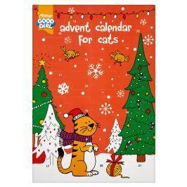 Kalendář adventní vánoční pro kočky 72g