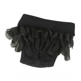 I love pets Kalhotky hárací Style - černá XS
