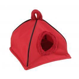 I love pets Domeček iglú červený pro hlodavce