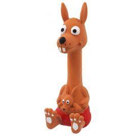 Hračka Dog Fantasy Latex Sedící Zvířátka se zvukem mix 18cm