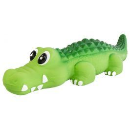 Hračka Dog Fantasy Latex Krokodýl se zvukem 20,5cm