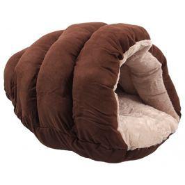 Pelíšek Dog Fantasy Cute1 55x43x25cm čokoládový