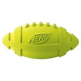 Hračka NERF gumový rugby míč pískací 17,5cm