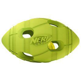 Hračka NERF gumový rugby míč LED 10cm