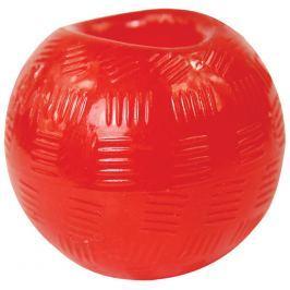 Hračka DOG FANTASY Strong míček gumový červený 9,5cm