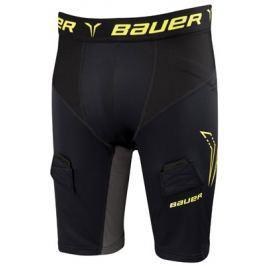 Šortky se suspenzorem Bauer Premium Compression Yth